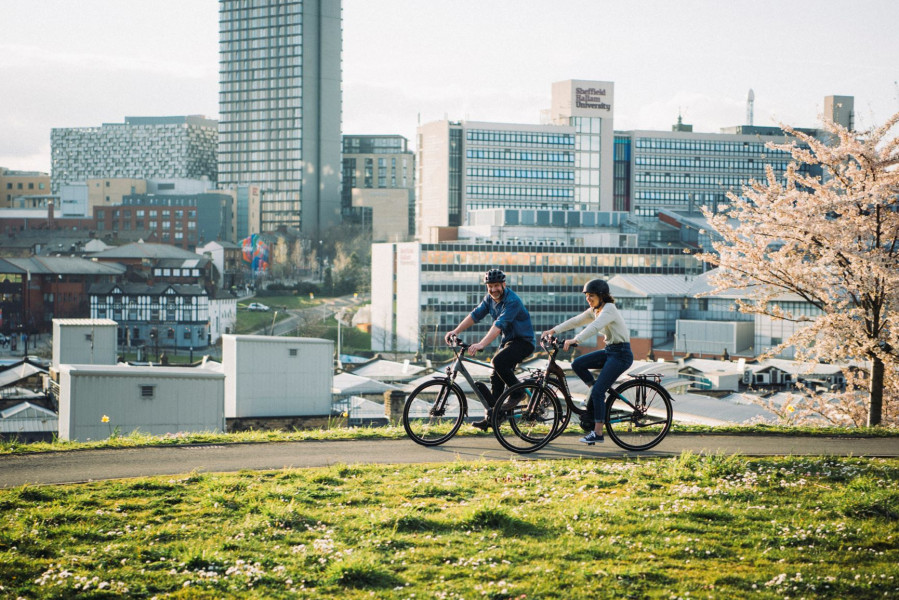 The health benefits of electric bikes